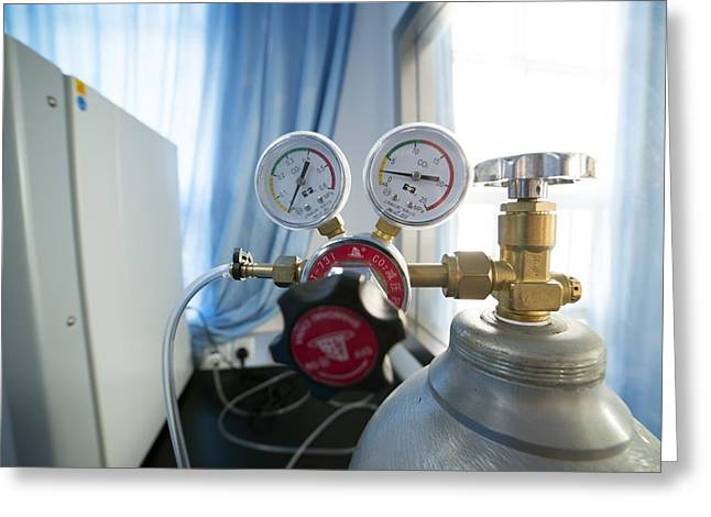 Carbon Dioxide Incubator Greeting Card by Science Photo Library