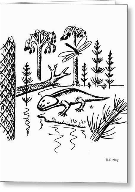 Carboniferous Greeting Card