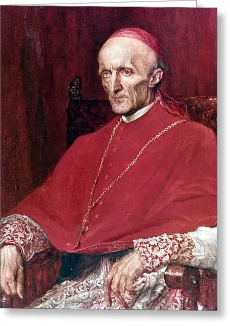 Cardinal Manning (1808-1892) Greeting Card by Granger