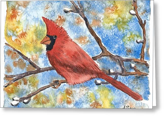 Cardinal Rule Greeting Card