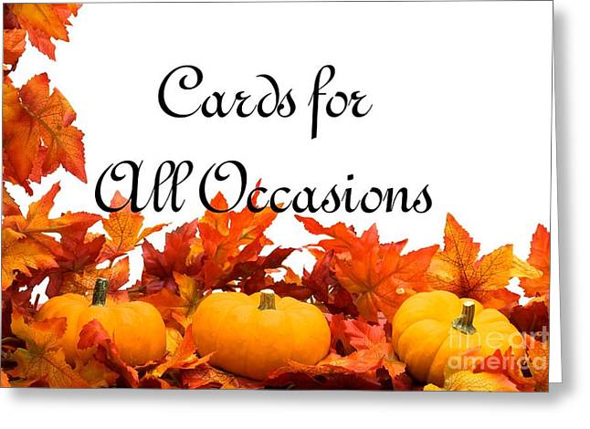 Cards For All Occasions Logo Greeting Card