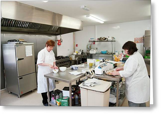 Care Home Kitchen Greeting Card