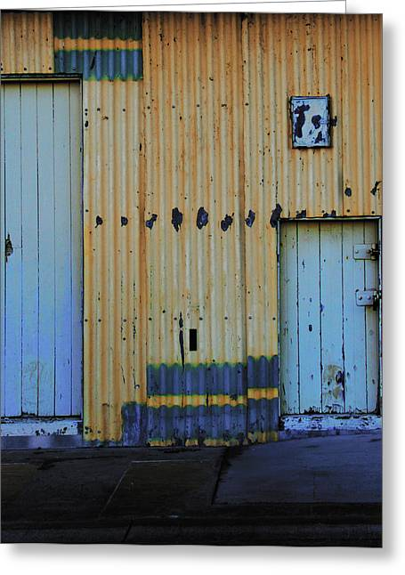 Cargo Shed  Greeting Card