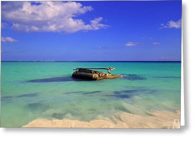 Greeting Card featuring the photograph Caribbean Colors  by Eti Reid