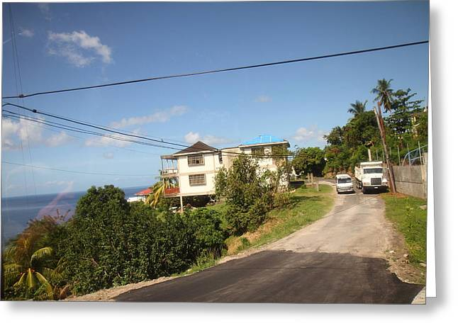 Caribbean Cruise - Dominica - 121230 Greeting Card by DC Photographer
