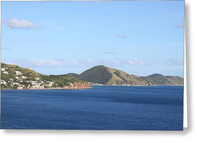 Caribbean Cruise - St Kitts - 1212106 Greeting Card