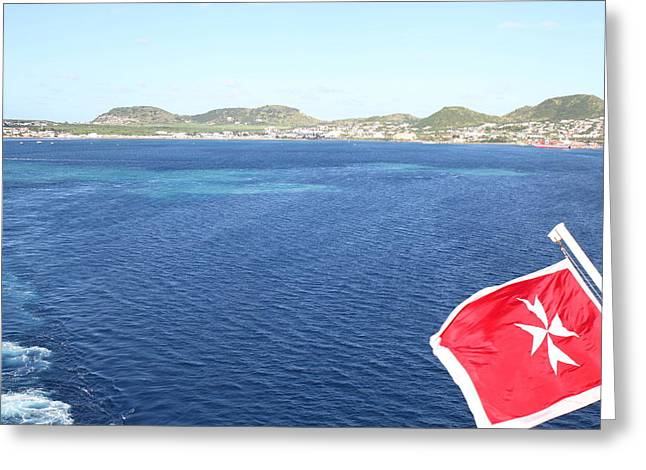Caribbean Cruise - St Kitts - 1212112 Greeting Card by DC Photographer