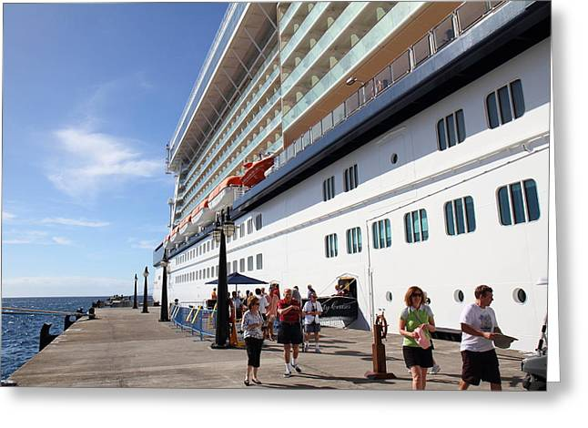 Caribbean Cruise - St Kitts - 1212124 Greeting Card by DC Photographer