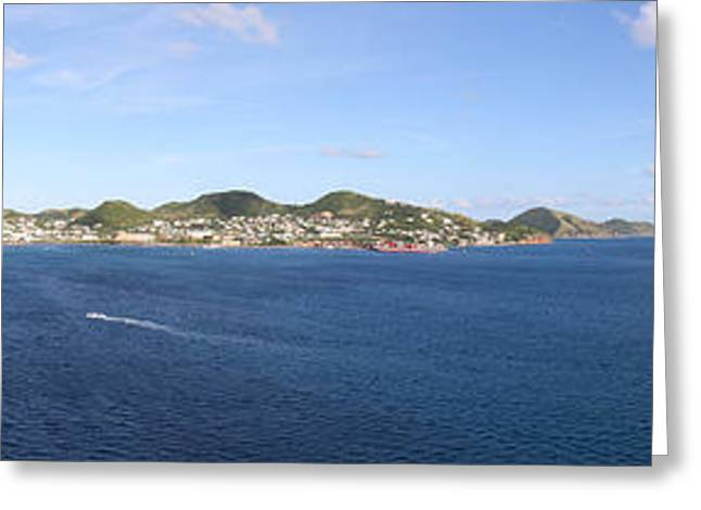 Caribbean Cruise - St Kitts - 12125 Greeting Card by DC Photographer