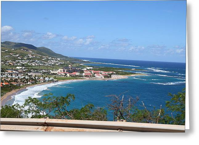 Caribbean Cruise - St Kitts - 121269 Greeting Card by DC Photographer
