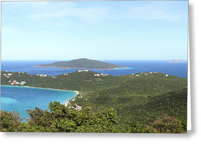 Caribbean Cruise - St Thomas - 121212 Greeting Card by DC Photographer