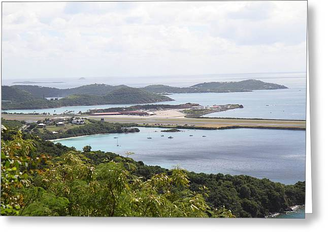 Caribbean Cruise - St Thomas - 1212147 Greeting Card by DC Photographer