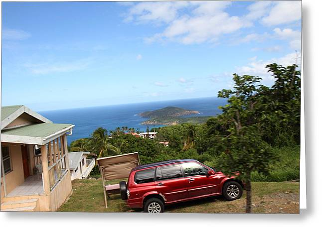 Caribbean Cruise - St Thomas - 1212173 Greeting Card