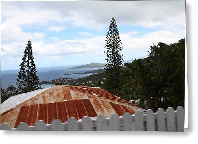 Caribbean Cruise - St Thomas - 1212194 Greeting Card