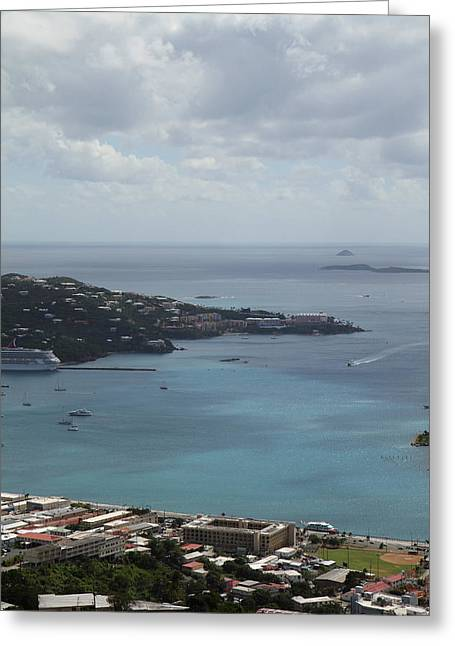 Caribbean Cruise - St Thomas - 1212203 Greeting Card by DC Photographer