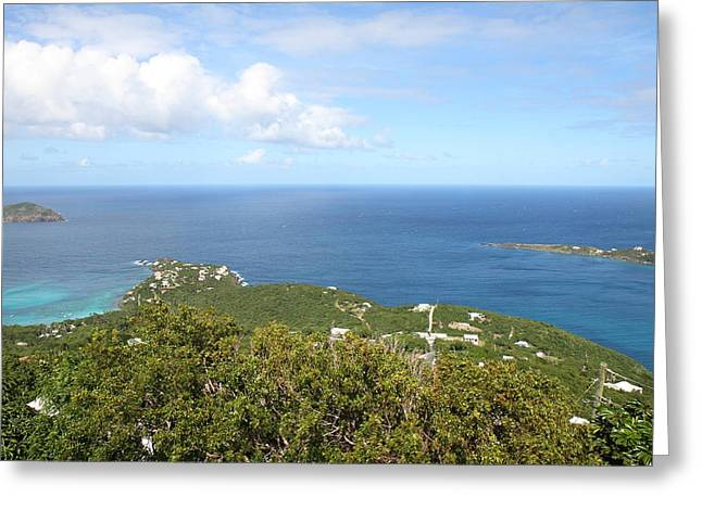 Caribbean Cruise - St Thomas - 1212226 Greeting Card by DC Photographer