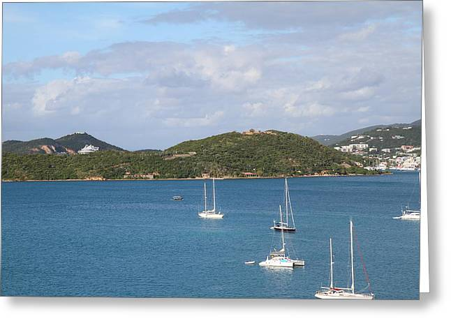 Caribbean Cruise - St Thomas - 121223 Greeting Card by DC Photographer
