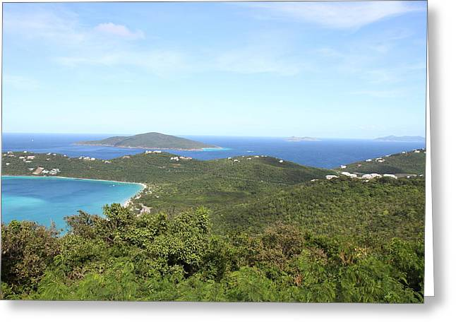 Caribbean Cruise - St Thomas - 1212240 Greeting Card by DC Photographer