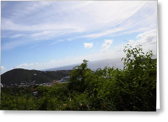 Caribbean Cruise - St Thomas - 1212252 Greeting Card by DC Photographer
