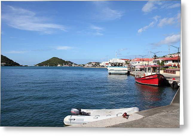 Caribbean Cruise - St Thomas - 121236 Greeting Card by DC Photographer