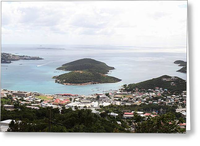 Caribbean Cruise - St Thomas - 12124 Greeting Card by DC Photographer