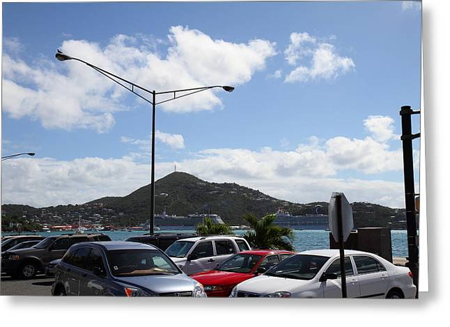 Caribbean Cruise - St Thomas - 121254 Greeting Card by DC Photographer