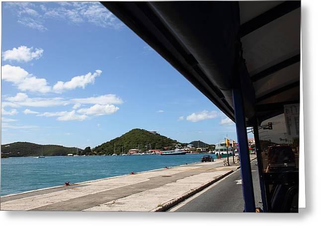 Caribbean Cruise - St Thomas - 121255 Greeting Card