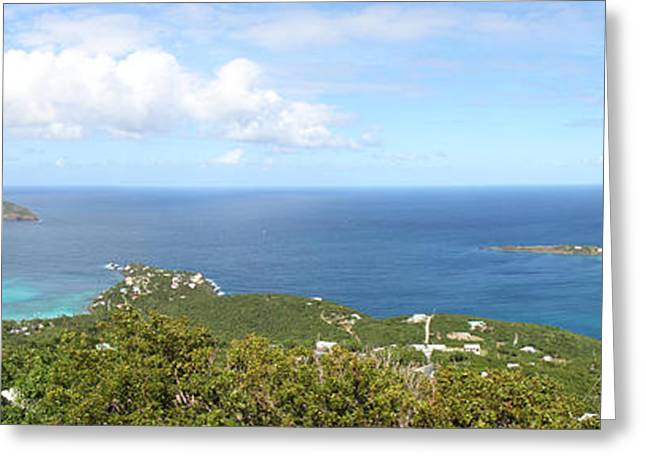 Caribbean Cruise - St Thomas - 12129 Greeting Card by DC Photographer