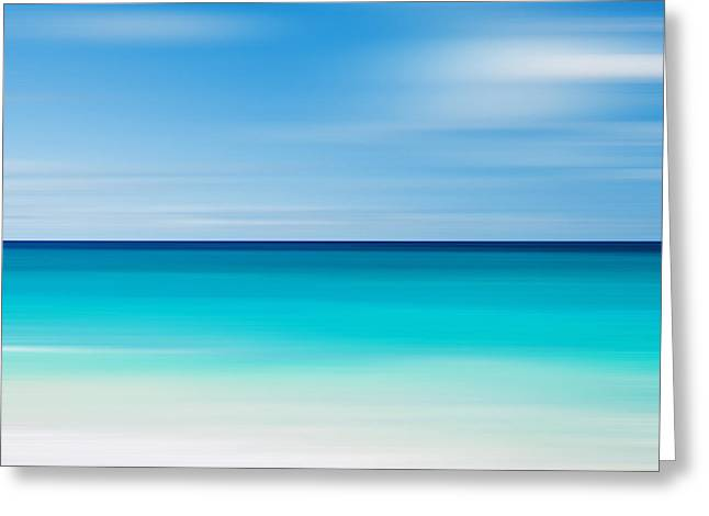 Caribbean Mood Greeting Card by Katherine Gendreau