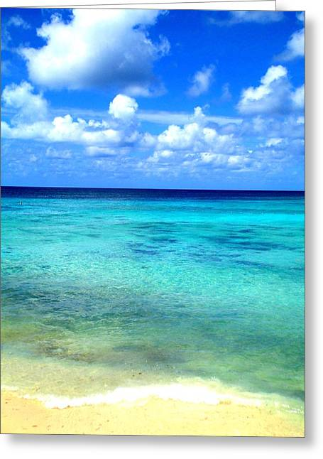 Caribbean Perfection Greeting Card by Randall Weidner