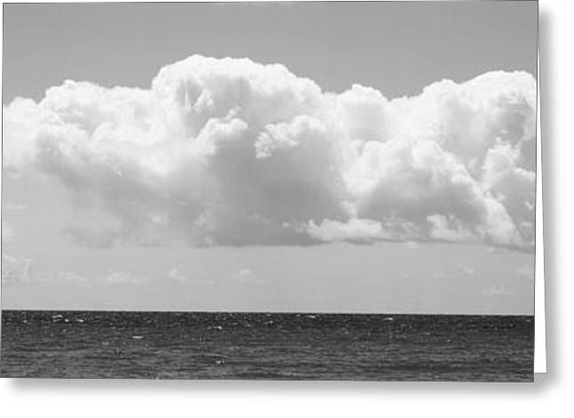 Caribbean Sea Greeting Card by Panoramic Images