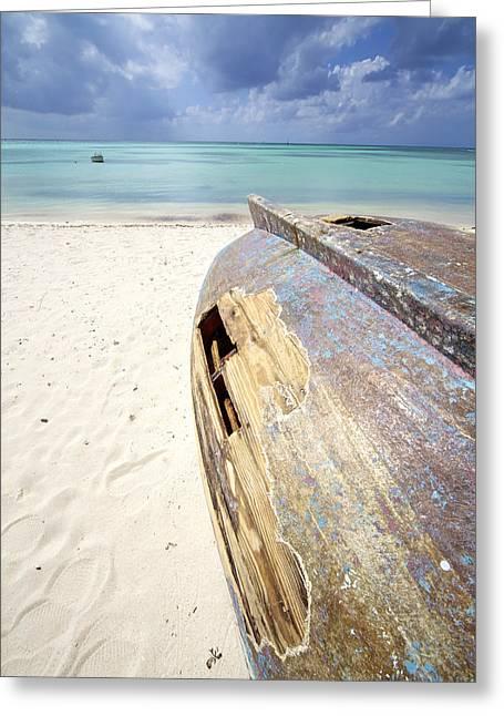 Caribbean Shipwreck Greeting Card