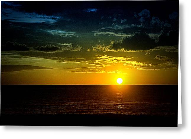 Caribbean Sunset ... Greeting Card