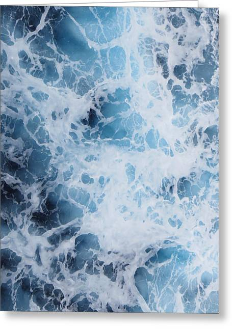 Greeting Card featuring the photograph Caribbean Water by Jean Marie Maggi