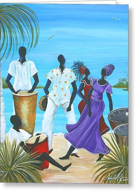 Caribbean Breeze Greeting Card