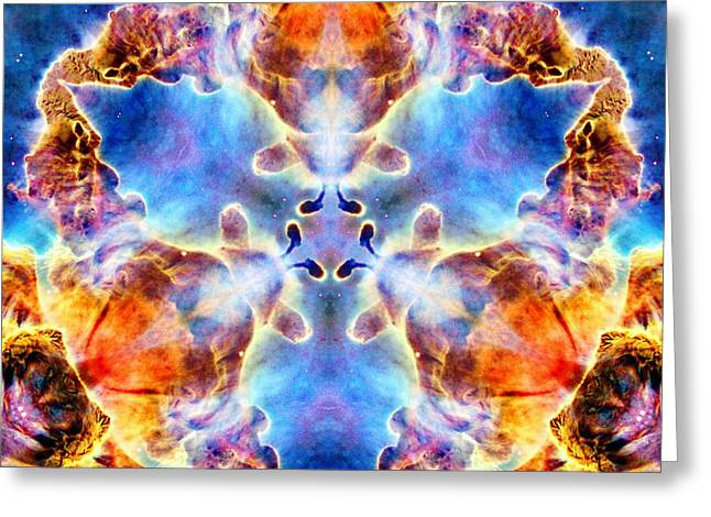 Carina Nebula Vi Greeting Card