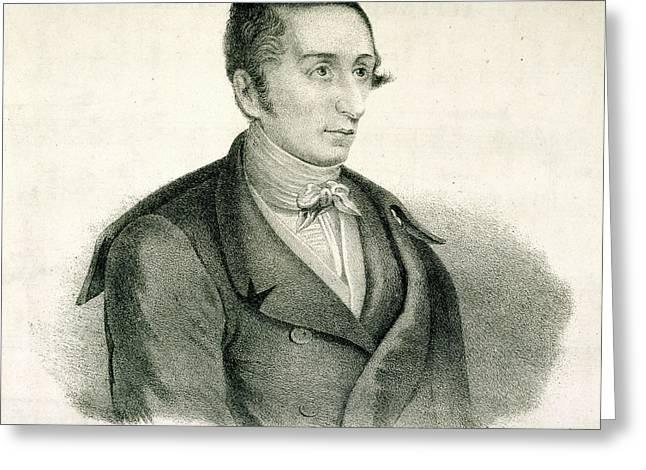 Carl Maria Von Weber Greeting Card by British Library