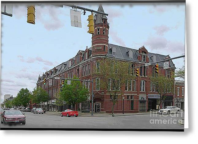 Carlisle Building -  A Chillicothe Landmark Greeting Card