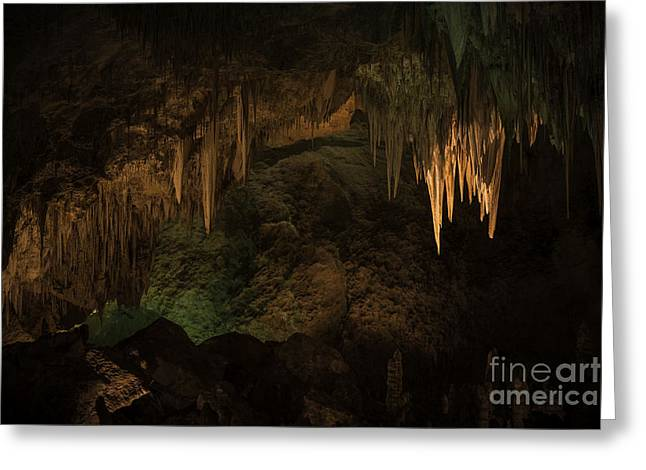 Carlsbad Caverns 1 Greeting Card by Richard Mason