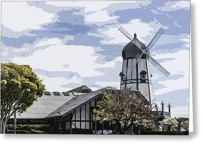 Carlsbad Windmill Greeting Card