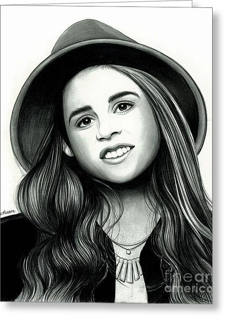 Carly Rose Sonenclar Greeting Card