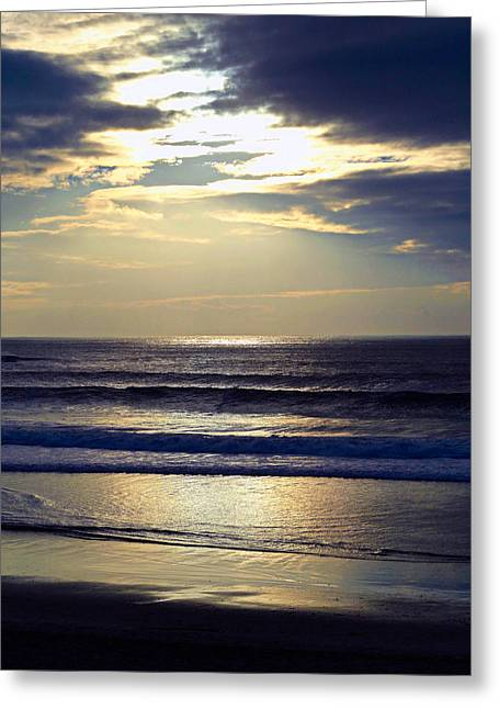 Carmel Beach Sunset Greeting Card