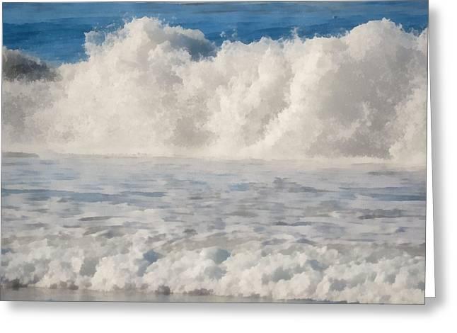Carmel By The Sea California Beach Greeting Card