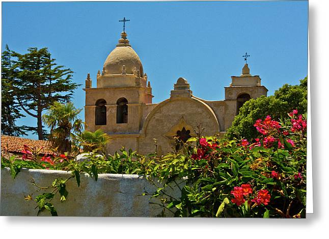 Carmel Mission, Carmel, California, Usa Greeting Card