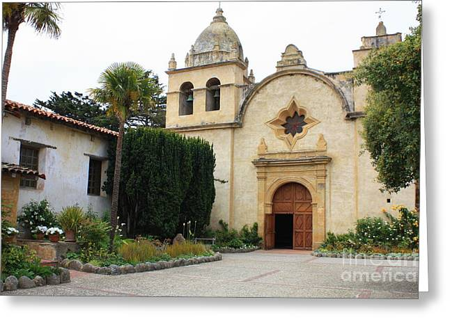 Carmel Mission Church Greeting Card