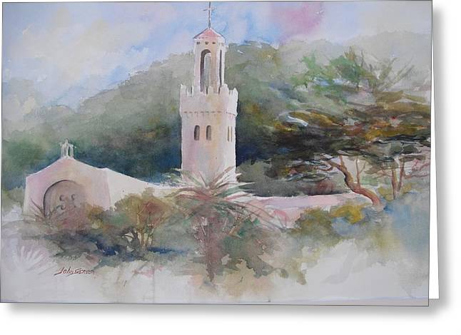 Carmelite Monastery  Greeting Card by John  Svenson
