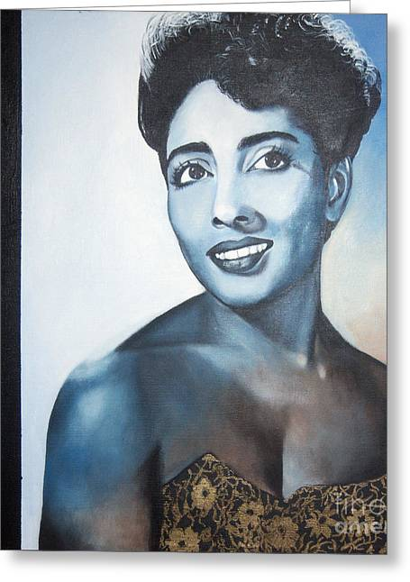 Carmen Mcrae Greeting Card