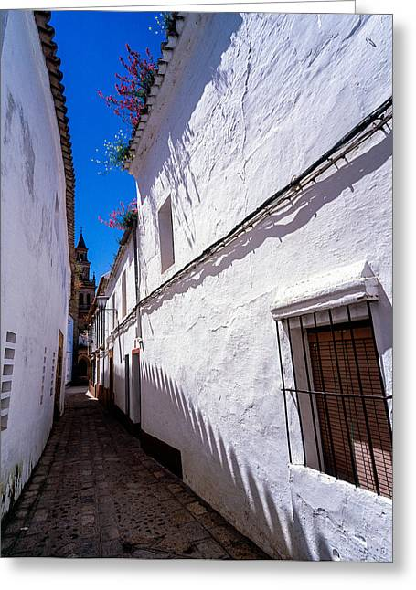 Carmona Old Town Andalucia Spain Greeting Card