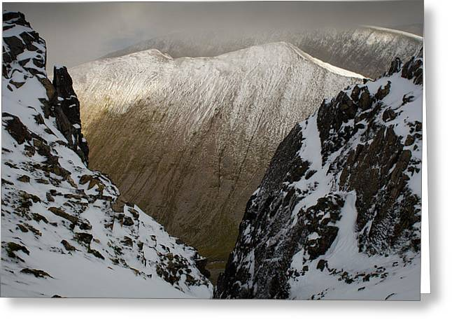 Carn Mor Dearg Greeting Card