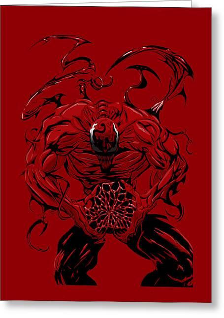 Carnage Greeting Card